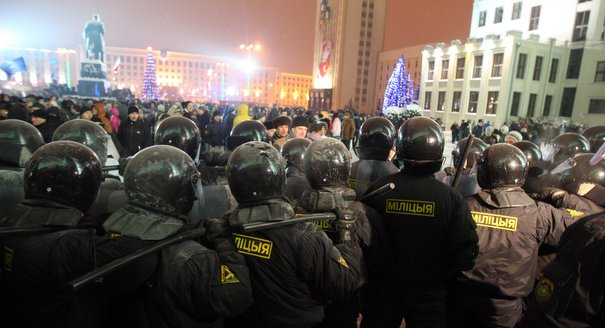Made in Germany: Lukashenko's Police Force