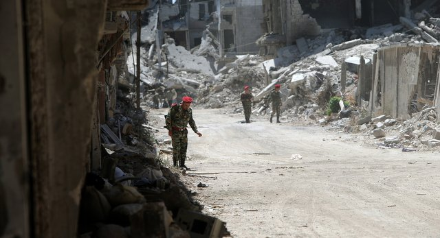 The Syrian Army Closes in on Homs