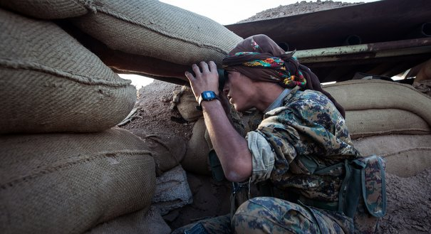 Bombers Over Hasakah: Assad Clashes With the Kurds