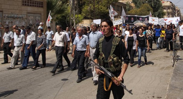 Christian Militia Politics in Qamishli