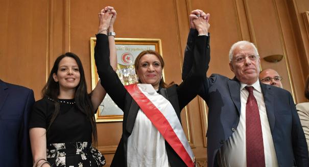 المرأة رئيسة لبلدية تونس لأول مرة: ماذا يقول التونسيون؟