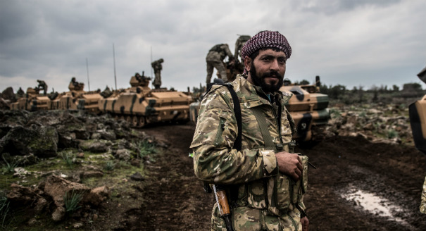 Turkey's Gradual Efforts to Professionalize Syrian Allies