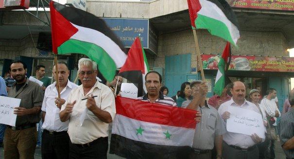 Assad's Palestinians