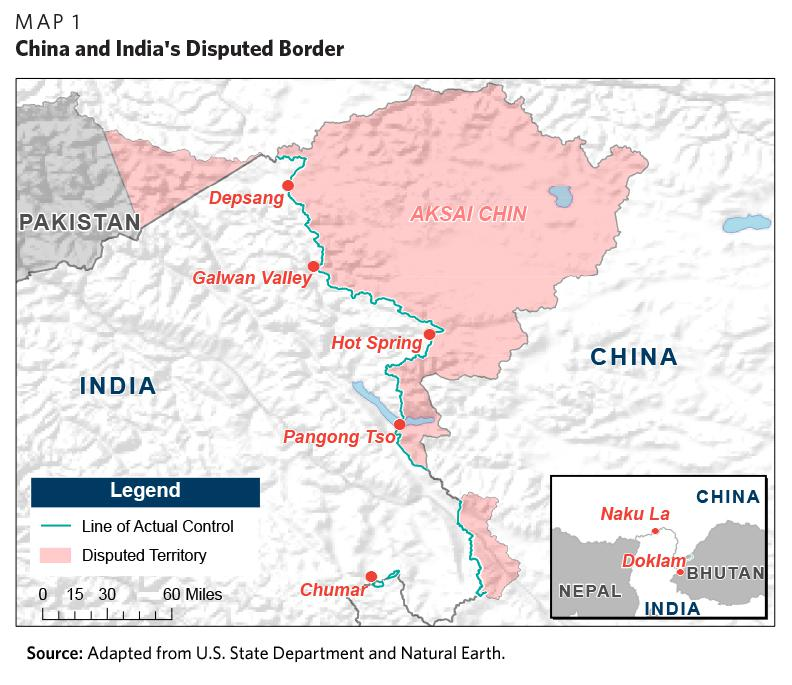 Hustling in the Himalayas: The Sino-Indian Border Confrontation - Carnegie  Endowment for International Peace