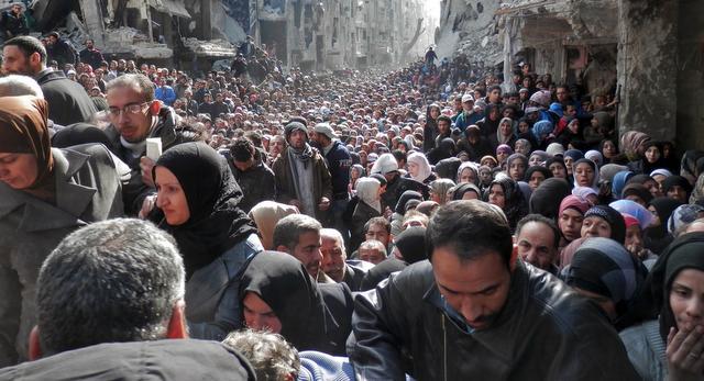 Starving the Palestinian Yarmouk Camp