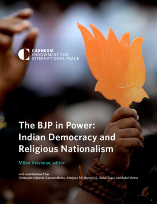 The Fate Of Secularism In India The Bjp In Power Indian Democracy And Religious Nationalism Carnegie Endowment For International Peace