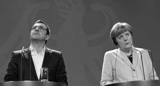 Греческая трагедия Ангелы Меркель