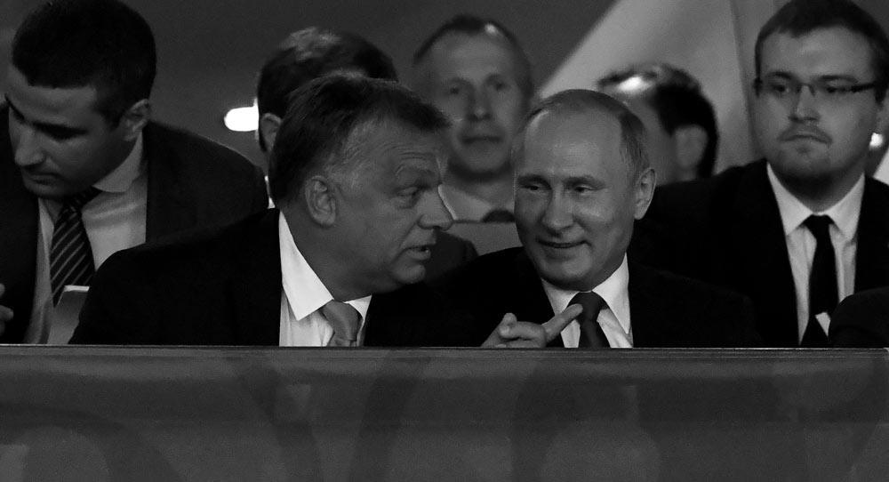 Putin's Man in Hungary, Putin's Man in Germany
