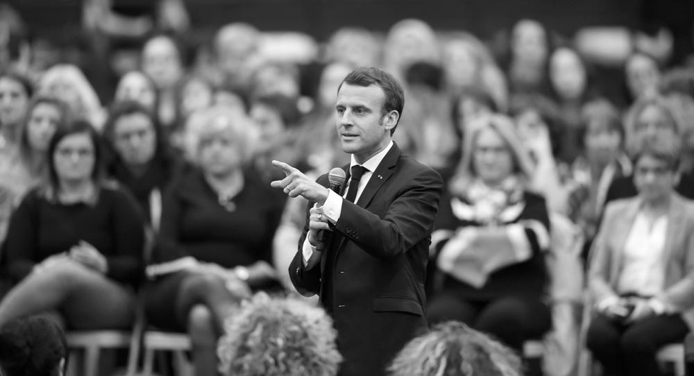 Macron's Bid to Wake Up Europe