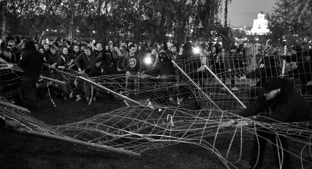 Civil Unrest in Yeltsin's City