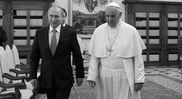 Mr. Putin Meets the Pope
