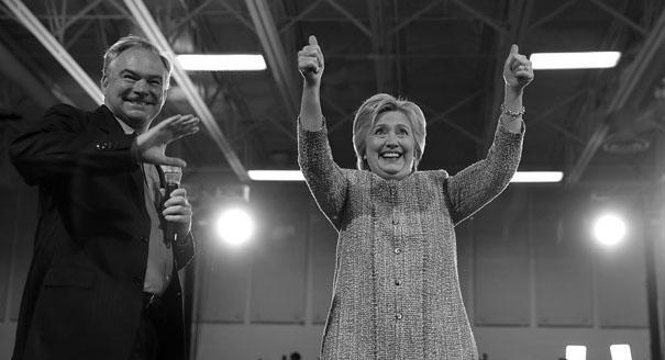 От либералов к центру. Как Клинтон выбрала своего вице-президента