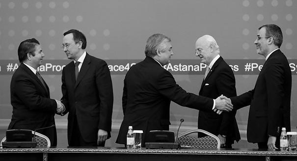 От Астаны к Женеве. Смогут ли Россия, Турция и Иран принести мир в Сирию
