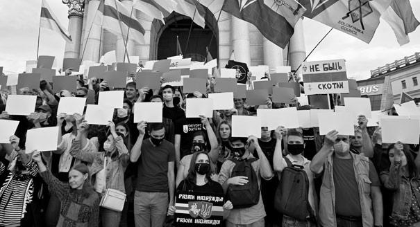 Больше, чем сосед. Как Украина переживает белорусские протесты