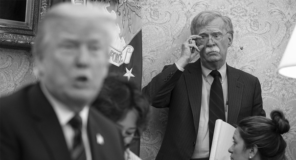How Russians are Reading Bolton and Trump