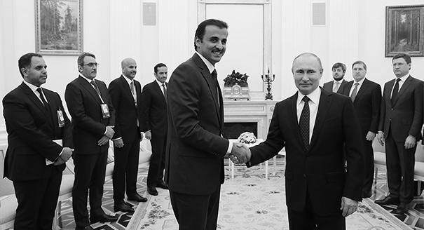 Почему эмир Катара зачастил в Москву