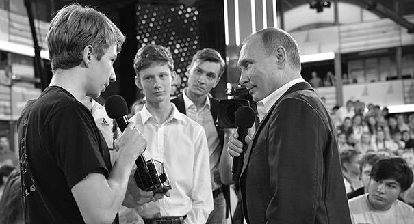 Ботаники и динозавр. Концептуальные проблемы диалога Путина и школьников