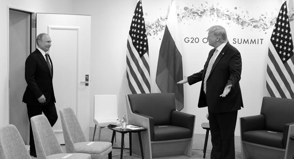 Военно-политический «ВКонтакте». Зачем встречались Путин и Трамп