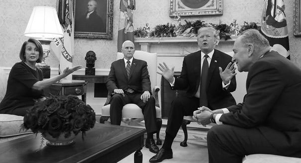 Стена шатдауна. Как пройдут следующие два года президентства Трампа