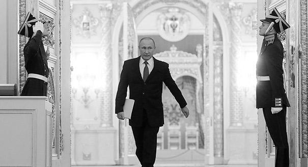 Путин на чемоданах, или Послание переходного периода
