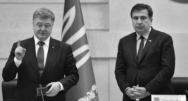 Ставка на Одессу: чем рискует Порошенко, назначая Саакашвили