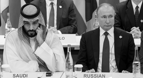 Russia-Saudi Roller Coaster: From a High Five to a Price War