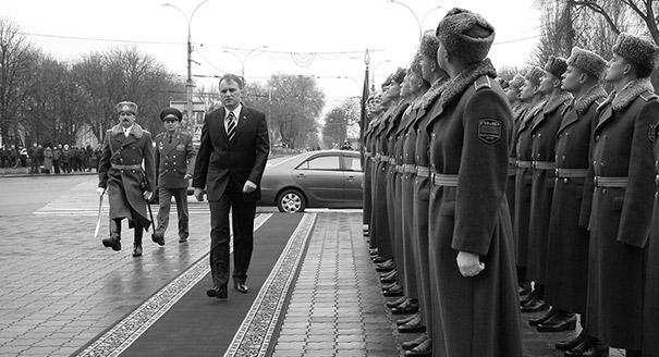 Never Sans Sheriff: Consolidating Power in Transdniestria