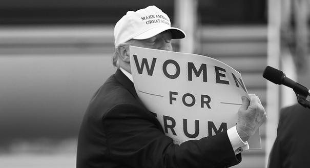 Без женщин и без фраз. Почему разваливается кампания Трампа