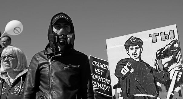 Moral Protests: How Citizens are Born in Russia