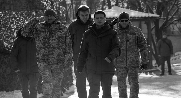 Donbas Escalation Has Given Zelensky a Boost—But for How Long?