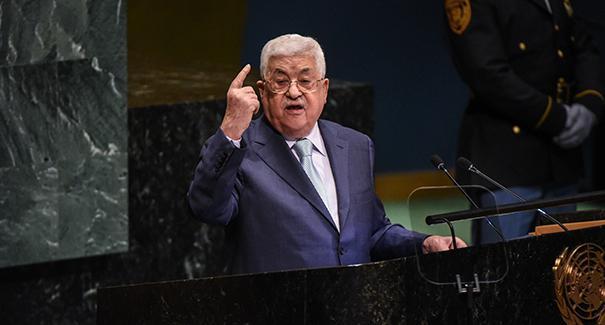محمود عباس أعلن حلّ جميع الاتفاقات والتفاهمات مع الحكومتين الأمريكية والإسرائيلية