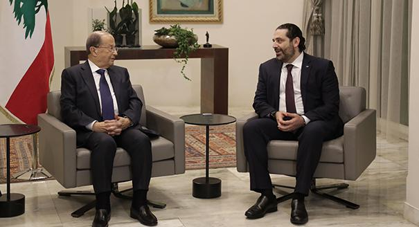 Michel Aoun and Saad Hariri Have Failed to Agree Over a New Government in Lebanon