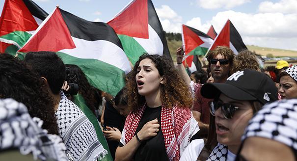 اعادة فلسطنة النزاع مع إسرائيل