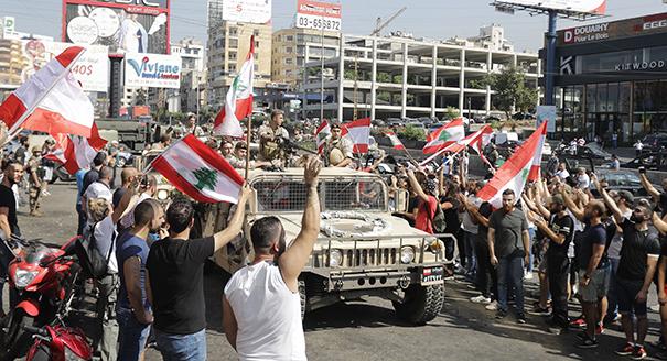 شوارع لبنان التائهة