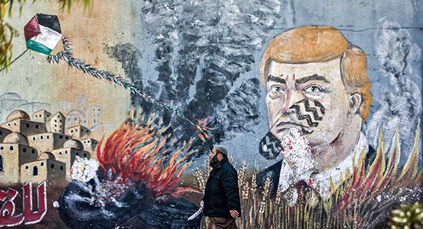 الرئيس دونالد ترامب أعلن خطته للسلام بين الفلسطينيين والإسرائيليين