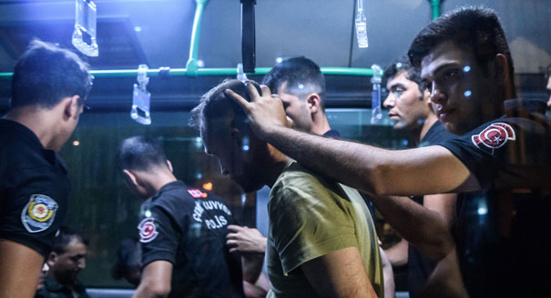 Coup and Countercoup in Turkey
