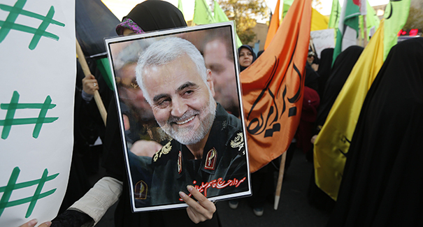 The United States Has Killed Qassem Suleimani, the Head of the Quds Force