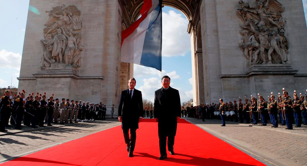 Macron Goes to China: For Europe or for France?