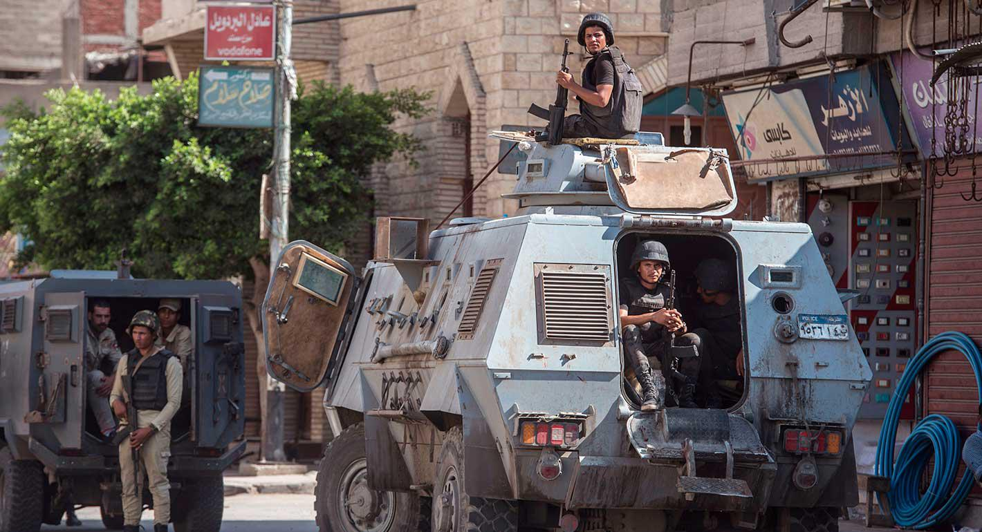 The Egyptian Military's Terrorism Containment Campaign in North Sinai
