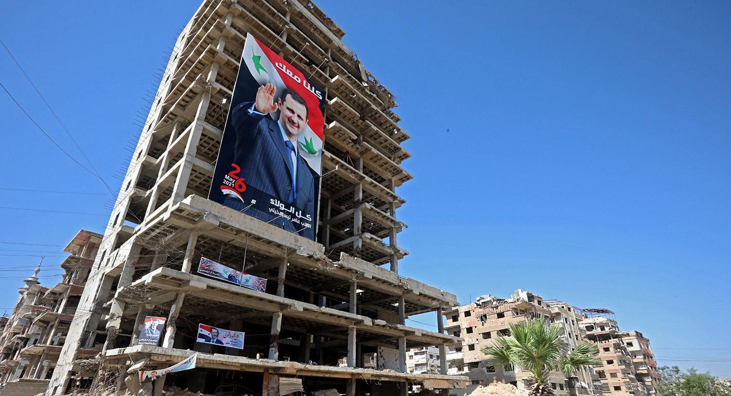 انتخابات سوريا الرئاسية: فائز مطلق وانهيار اقتصادي