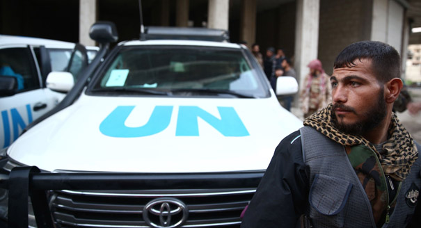 The UN Enters Syria's Moral Labyrinth