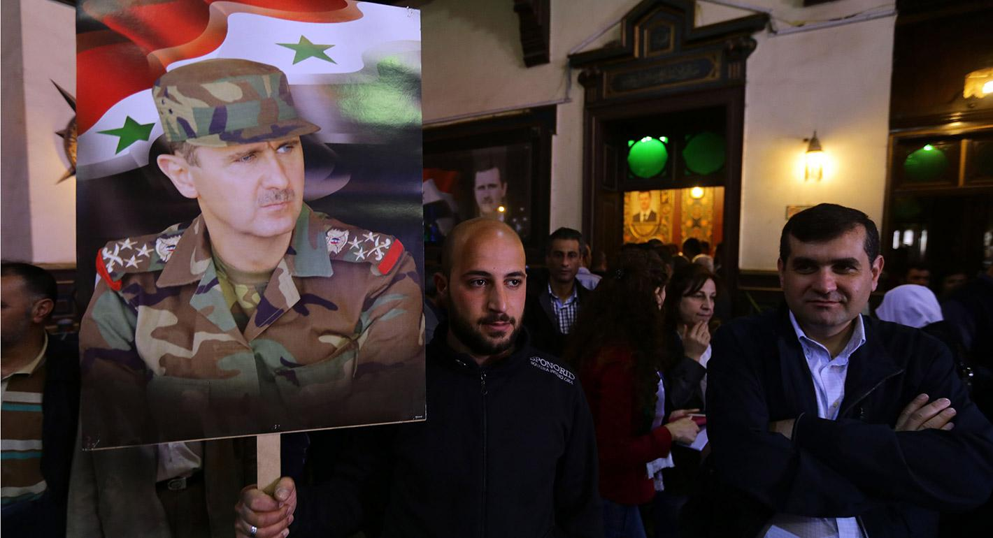 The Banality of Authoritarian Control: Syria's Ba'ath Party Marches On