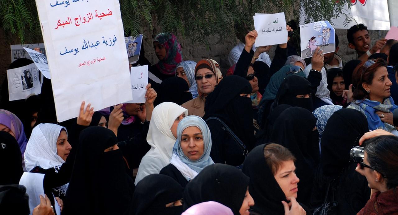 ميزان العدالة المائل في اليمن: زواج الصغيرات والعنف الأسري