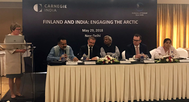 Finland and India: Engaging the Arctic