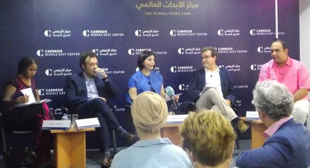 ديوان ووسائل الإعلام الجديدة في الشرق الأوسط