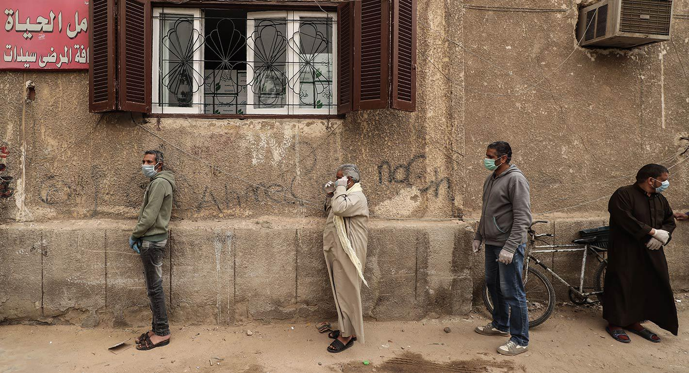 Egypt Faces the Pandemic: Politics, Rights, and Global Dynamics